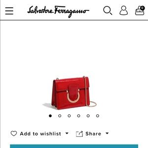 Salvatore Ferragamo ~ Gancini Flap Bag~